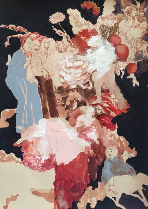 Helen Ballardie, Laughing Girls I, 2019
