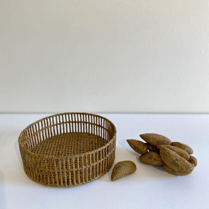 Annie Turner, Sieve and Mussels, 2020
