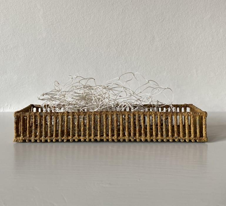 Annie Turner, Needle Box With Herring Net, 2021