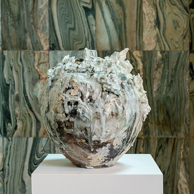 Akiko Hirai, Large Moon Jar, 2019