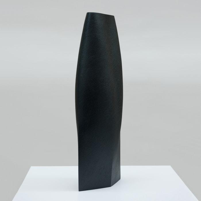 Ashraf Hanna, Black Blue Vessel Form, 2021