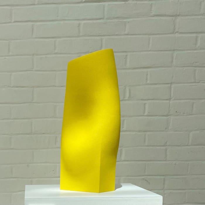 Ashraf Hanna, Yellow Vessel Form, 2021