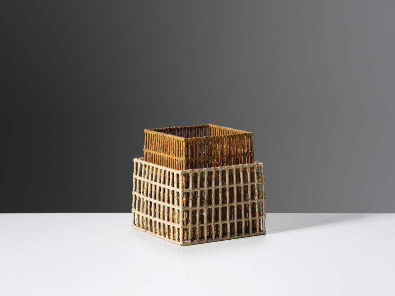 Annie Turner, Mussel Box and Sieve, 2019