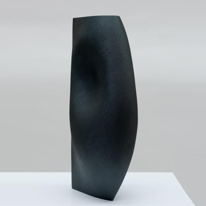 Ashraf Hanna, Black Vessel Form, 2021