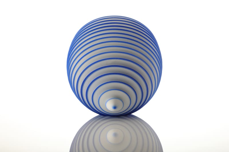 Nicholas Lees, Blue Floating Bowl 20.02, 2020