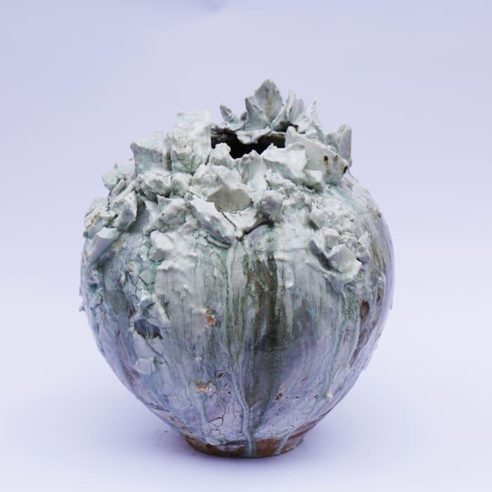 Akiko Hirai, Medium Moon Jar, 2021