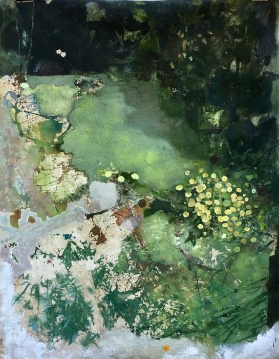 Helen Ballardie, Green Golden Daisies, 2021