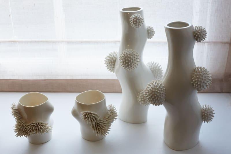 Ikuko Iwamoto, Medium Pofu Pofu Vase, 2021