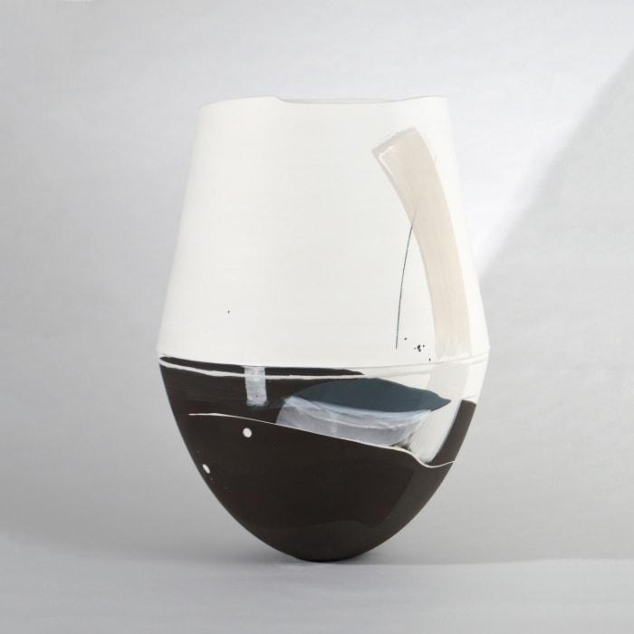 Hannah Tounsend, Large Elliptoid Hybrid Vessel, 2020