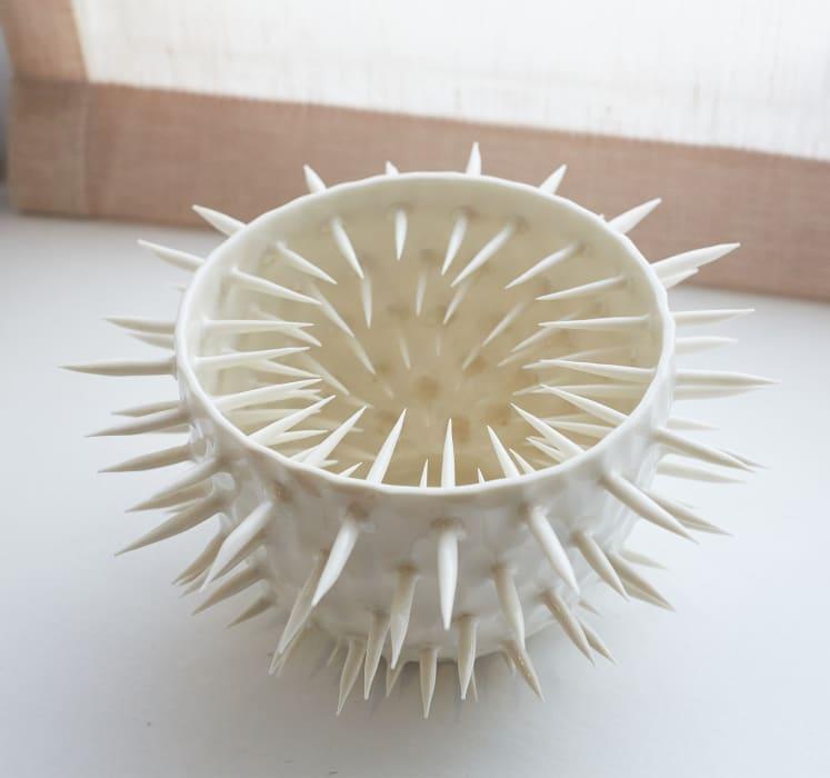 Ikuko Iwamoto, Large Spiky Spiky Bowl, 2021
