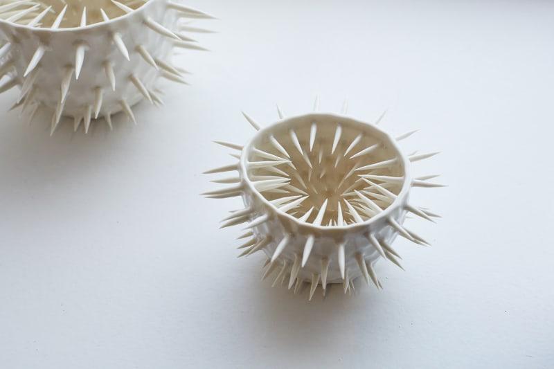 Ikuko Iwamoto, Small Spiky Spiky Bowl, 2021