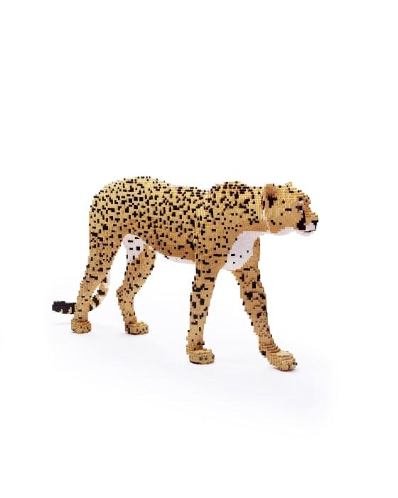 Dean West & Nathan Sawaya, Cheetah, 2019