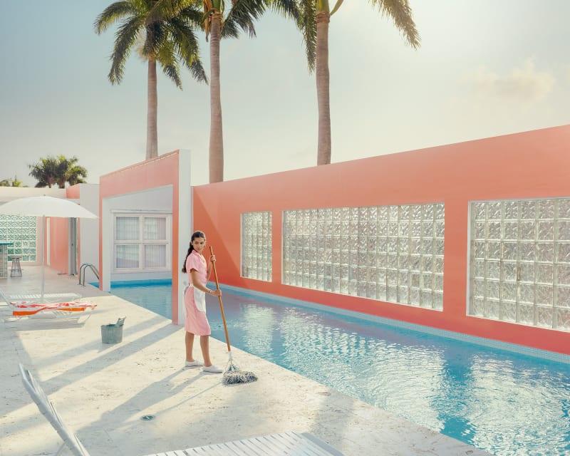 Dean West, Pink Dreams #2, Miami Shores, 2021