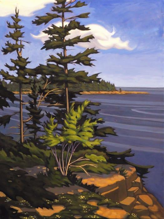 Nathaniel Meyer, Schoodic Harbor