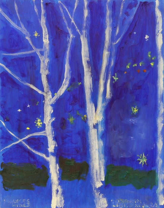 Frances Hynes, Windham Lights and Birch Trees