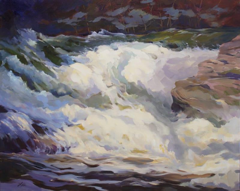 Lea Peterson, White Water