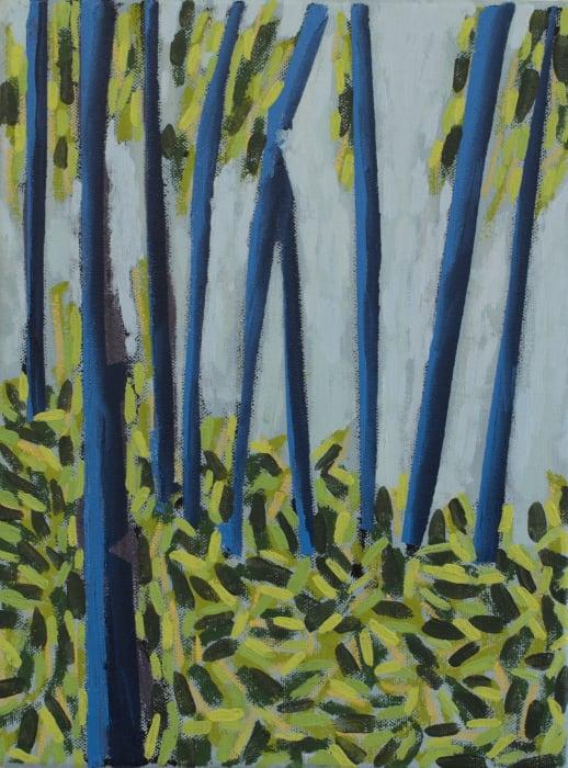 Richard Keen, Blue Trees No. 1