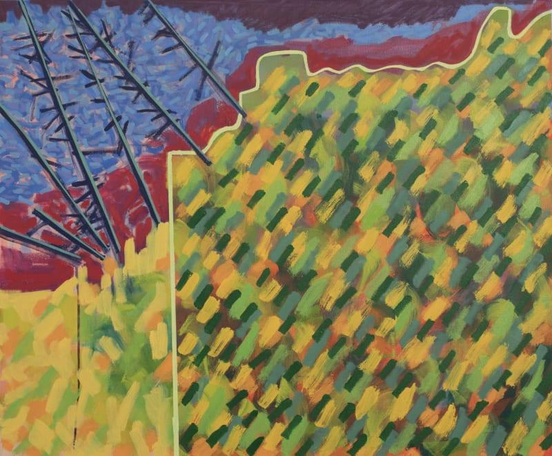 Richard Keen, Island Geometry, Monhegan: Cliff Trail No. 2
