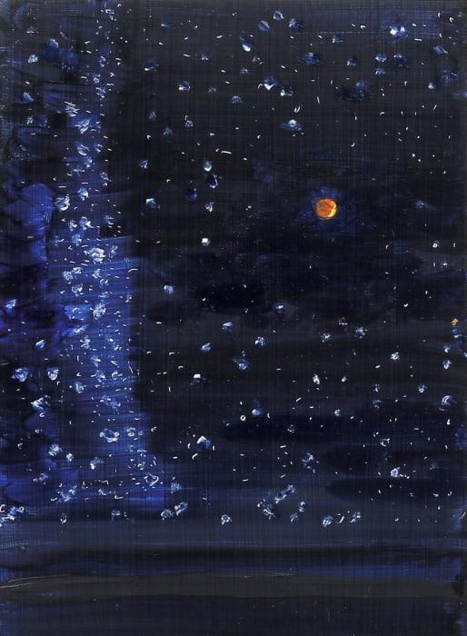 Kristin Malin, Totality, Lunar Eclipse, 10pm. Sept. 28th, 2015