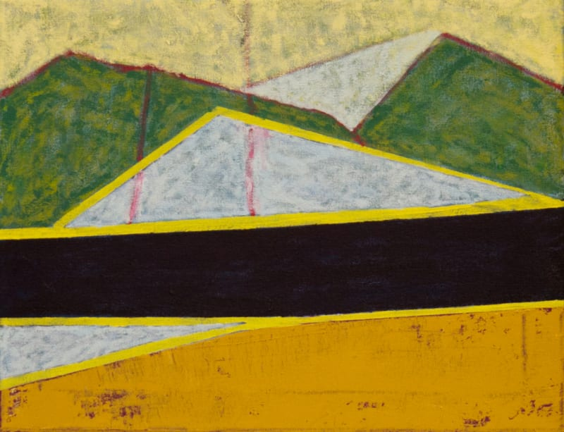 Richard Keen, Island Geometry/Acadia: Sandbeach No. 4