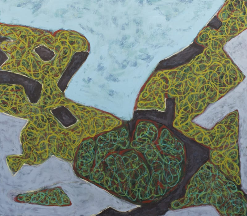 Richard Keen, Island Geometry, Monhegan: Rockweed No. 6