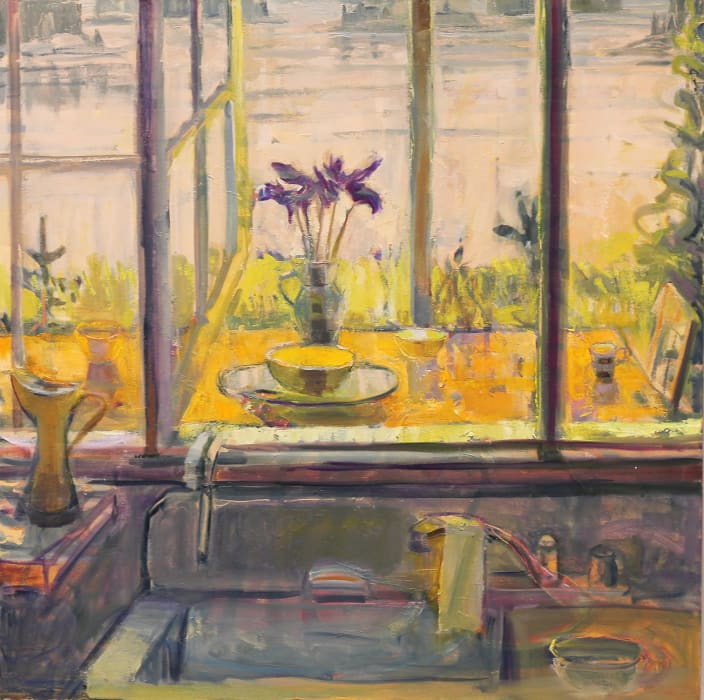 Louise Bourne, Iris with Sink