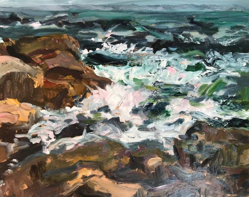 Michelle Hero Clarke, Rocks and Sea