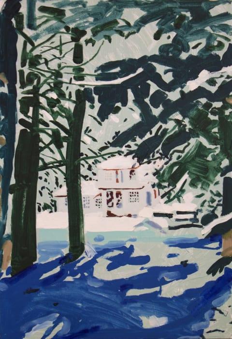 Tessa O'Brien, House Through the Trees