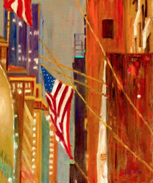 Laura Waller, 55th Street No. 2: Strung Up, Strung Out