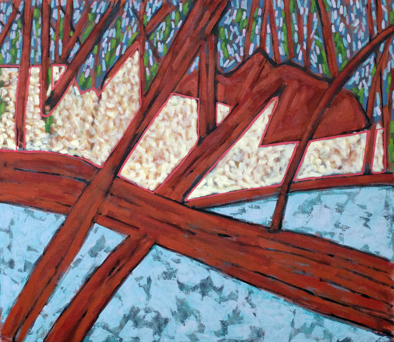 Richard Keen, Harpswell Woods No. 9
