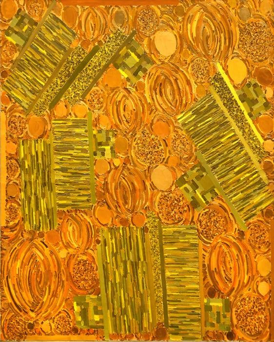 Lynne Drexler, October Pattern, 1974