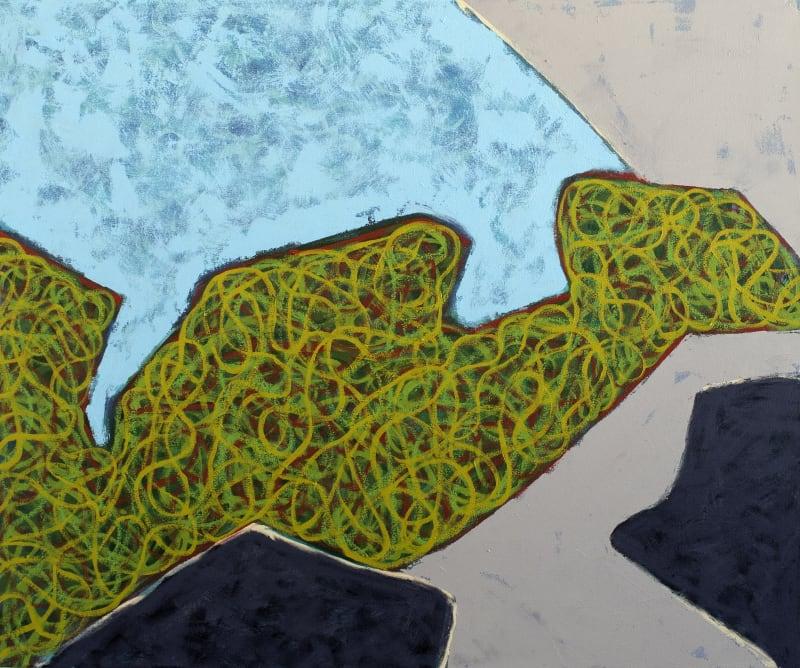 Richard Keen, Island Geometry, Monhegan: Rockweed No. 13