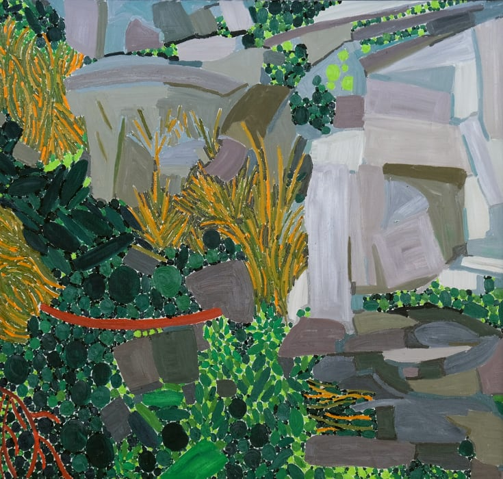 Lynne Drexler, Rocks, 1979