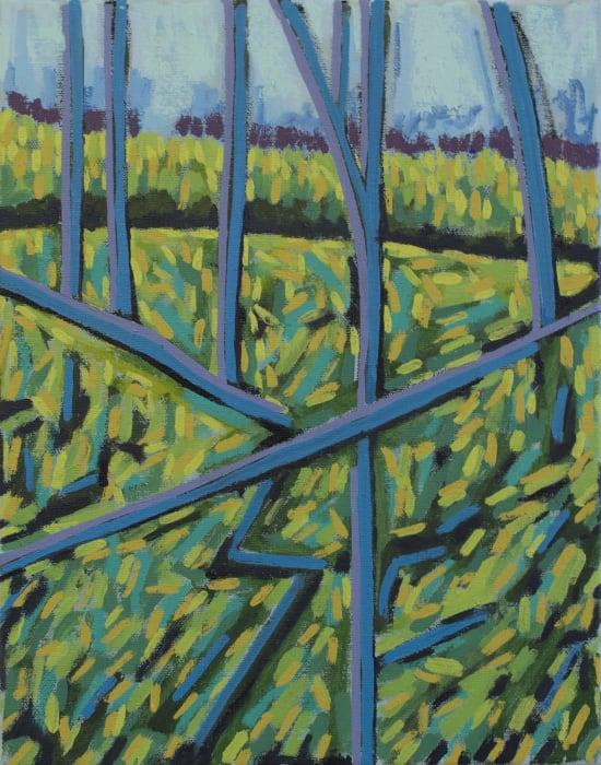 Richard Keen, Blue Trees No. 3