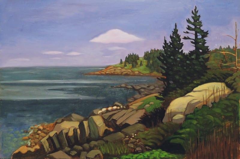 Nathaniel Meyer, Pebble Beach, Monhegan