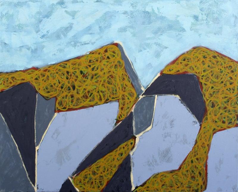 Richard Keen, Island Geometry, Monhegan: Rockweed No. 11