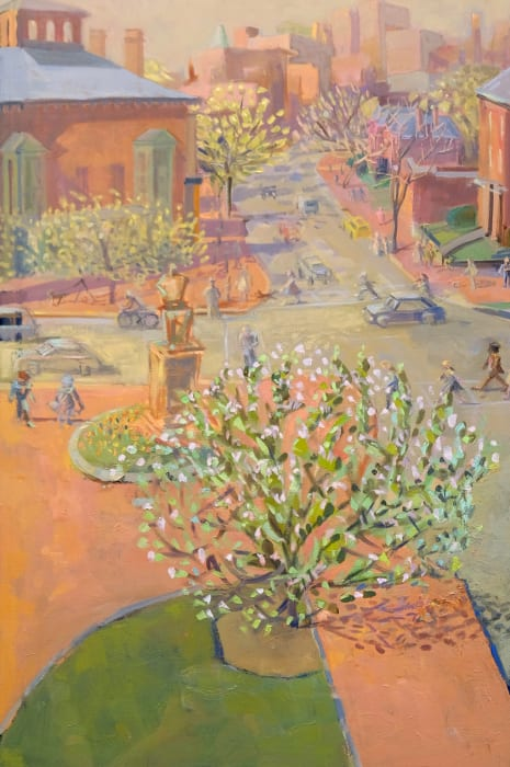 Louise Bourne, Opening Leaves, Longfellow Square