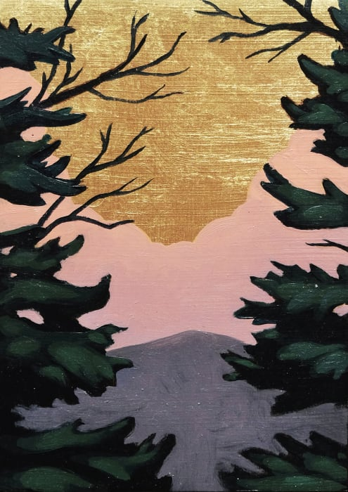 Nathaniel Meyer, Spruce Gold Branches