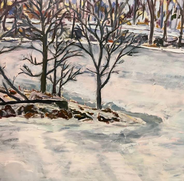 Michelle Hero Clarke, Androscoggin Series: Cold Day, Mid February