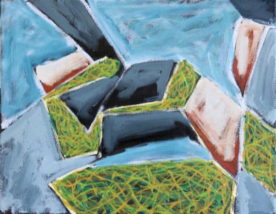Richard Keen, Island Geometry/ Monhegan: Rockweed No. 2