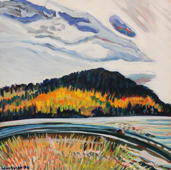 Brita Holmquist, October at Eagle Lake