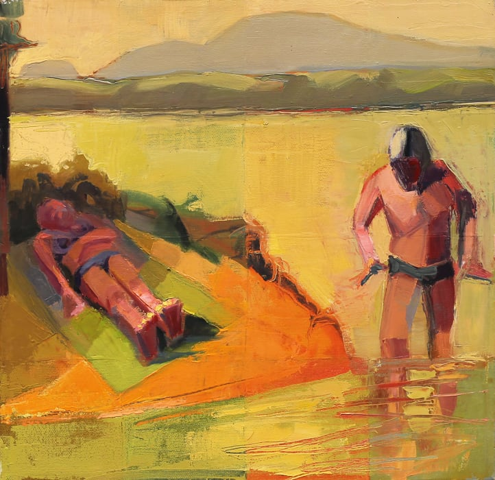 Louise Bourne, Bathing Beneath