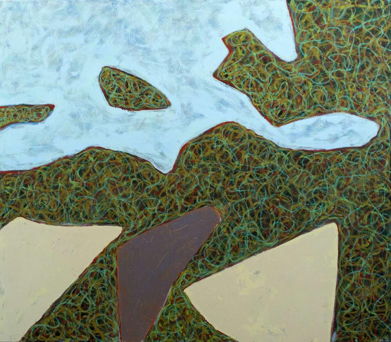 Richard Keen, Island Geometry, Monhegan: Rockweed No. 7