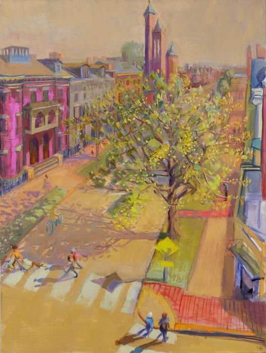 Louise Bourne, State Street, Spring