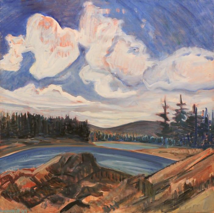 Brita Holmquist, Brackett's Channel in the Fall