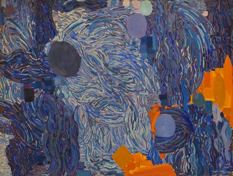 Lynne Drexler, Tossed Wave, 1969