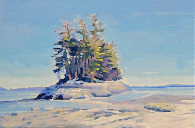 Liz Hoag, Island at Low Tide