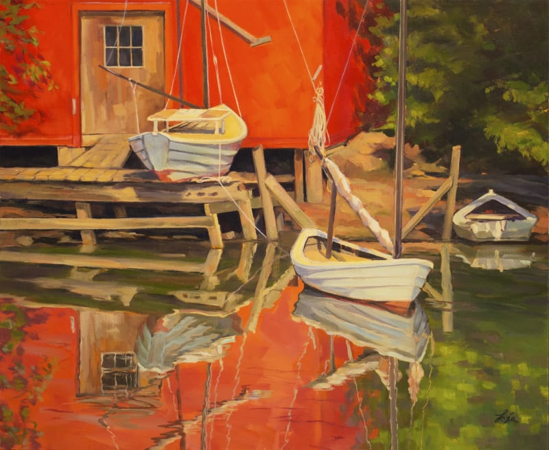 Lea Peterson, Summer in the Cove