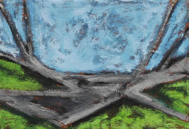 Richard Keen, Fallen Trees No. 3, Monhegan