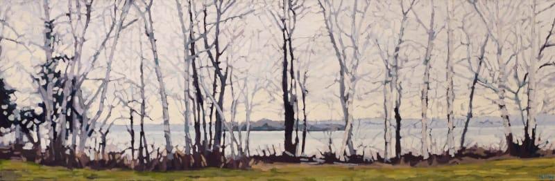 Liz Hoag, Birches by the Lake